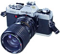 minolta xg-1 35mm slr film camera