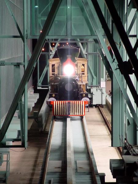 Photo Minute Maid Park Train